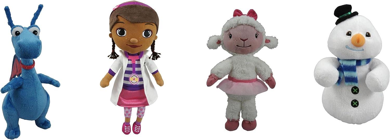 "B008HH73OY Disney Doc McStuffins 8"" Mini Beanbag Plush Complete Set of 4: Dottie; Lambie; Stuffy; Chilly 71Cra5OY2EL.SL1500_"