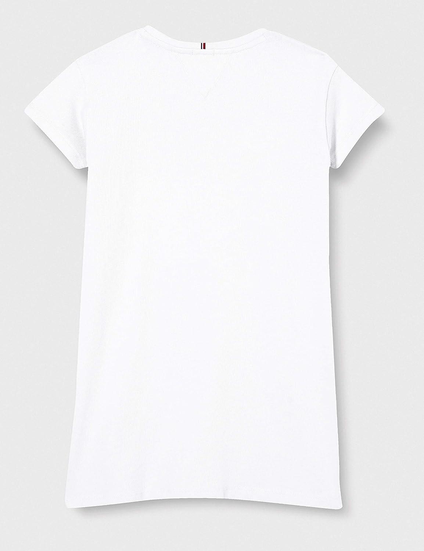 Tommy Hilfiger Flag Jersey Dress S//S Vestito Bambina