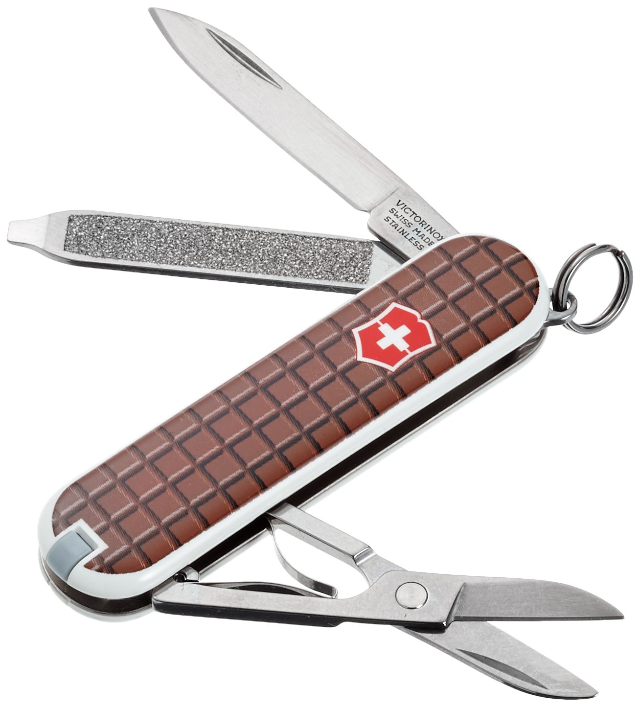 Victorinox V06223.842 Navaja Pequeña Classic Sd, Chocolate, Marrón, S 0.6223.842