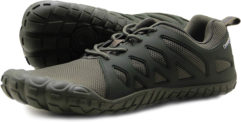 Oranginer - Zapatos de entrenamiento minimalistas para hombre, (3-verde militar), 45 EU: Amazon.es: Zapatos y complementos