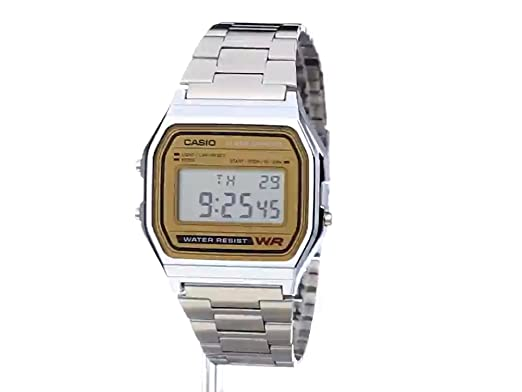 best authentic b9240 afaf4 Amazon.com  Casio Men s A158WEA-9CF Casual Classic Digital Bracelet Watch   Watches