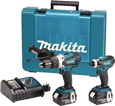 Makita DK18000 - Juego de herramientas eléctricas (18 voltios ...