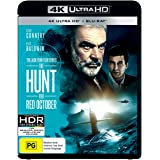 The Hunt for Red October 4K UHD / Blu-ray | Sean Connery | NON-USA Format | Region B Import - Australia