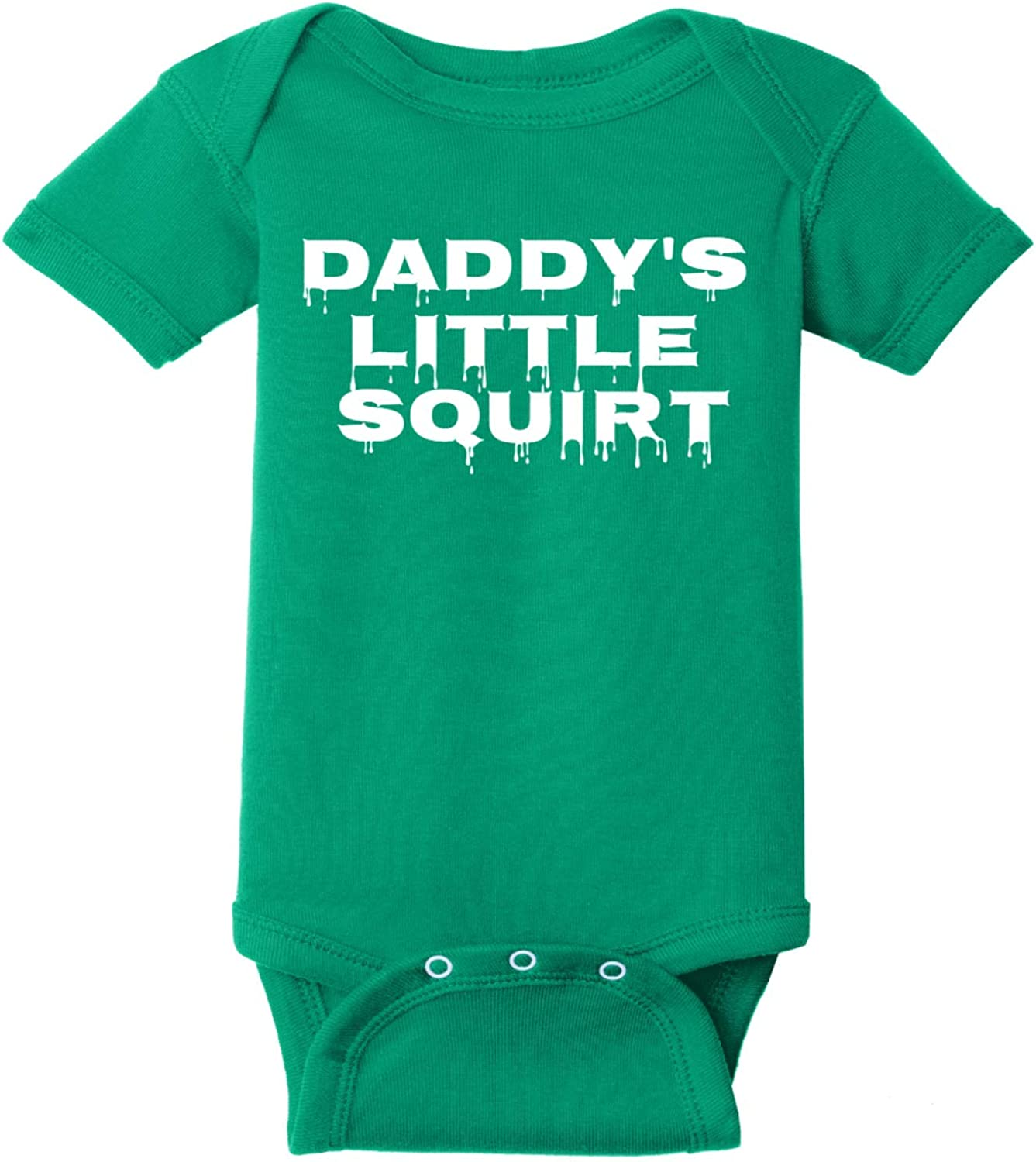 6 Months U.S Custom Tees Daddys Little Squirt Key Lime