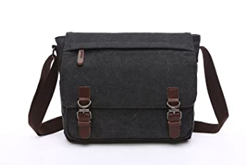 Amazon.com: Mestart Messenger Bag School Bag Business Briefcase ...