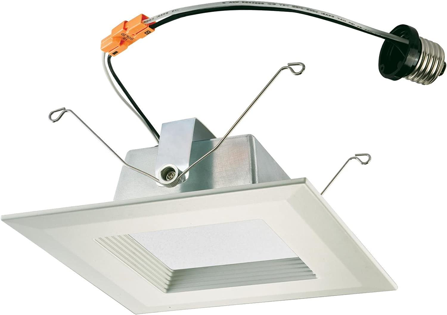 Westinghouse Lighting 3105400 Led Downlight Dimmable Cool White Energy Star Light Bulb with Medium Base Trim