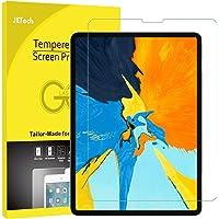 JETech Protector de Pantalla iPad Pro 11 Pulgadas (Lanzamiento 2018 Borde a Borde Pantalla Liquid Retina), Vidrio Templado