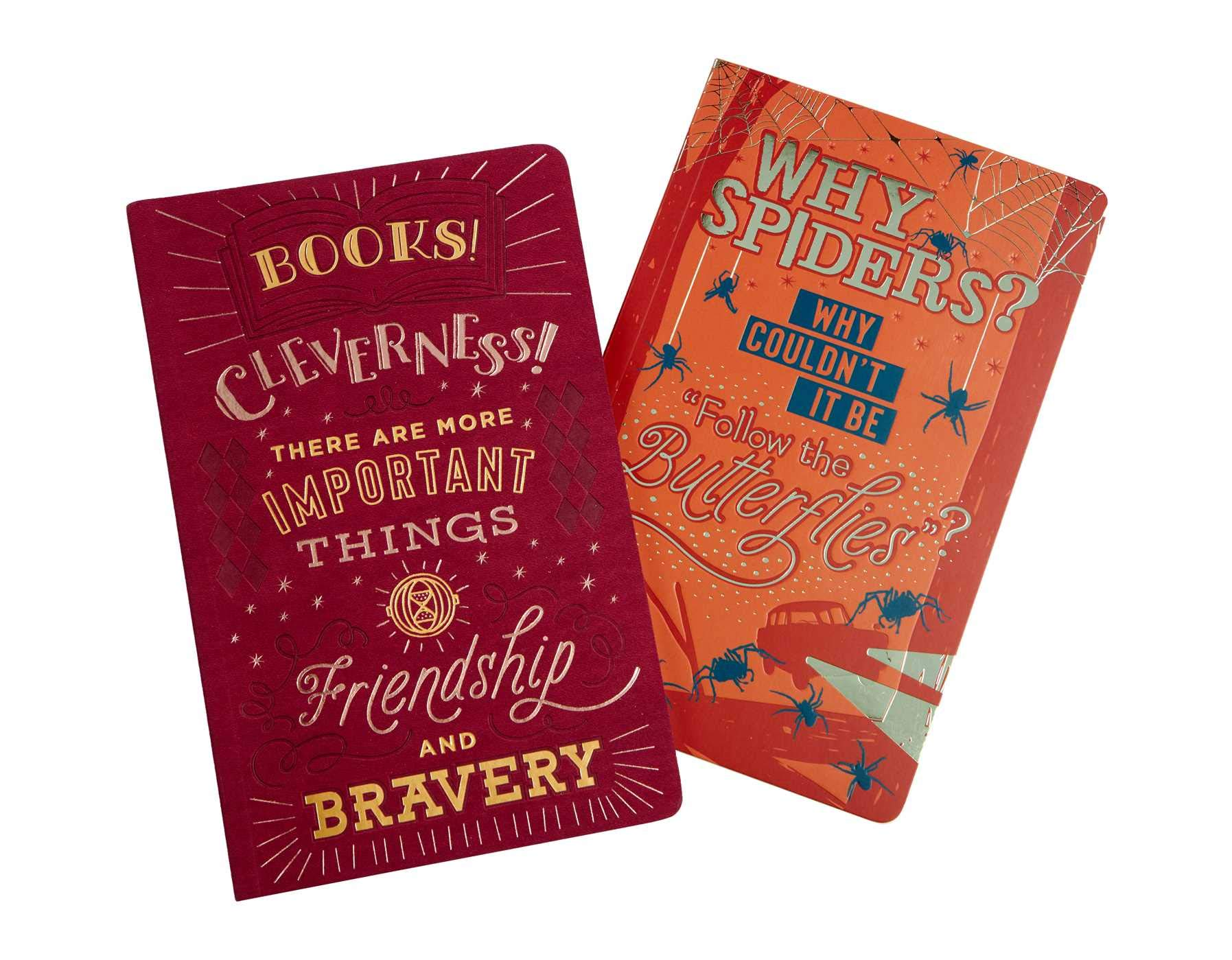 Harry Potter: Character Notebook Collection Set of 2 : Ron ...