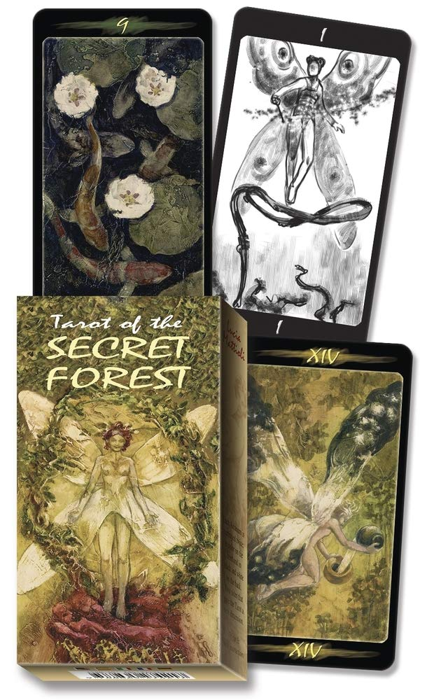 Tarot of the Secret Forest (English and Spanish Edition): Lo Scarabeo:  9780738707631: Amazon.com: Books