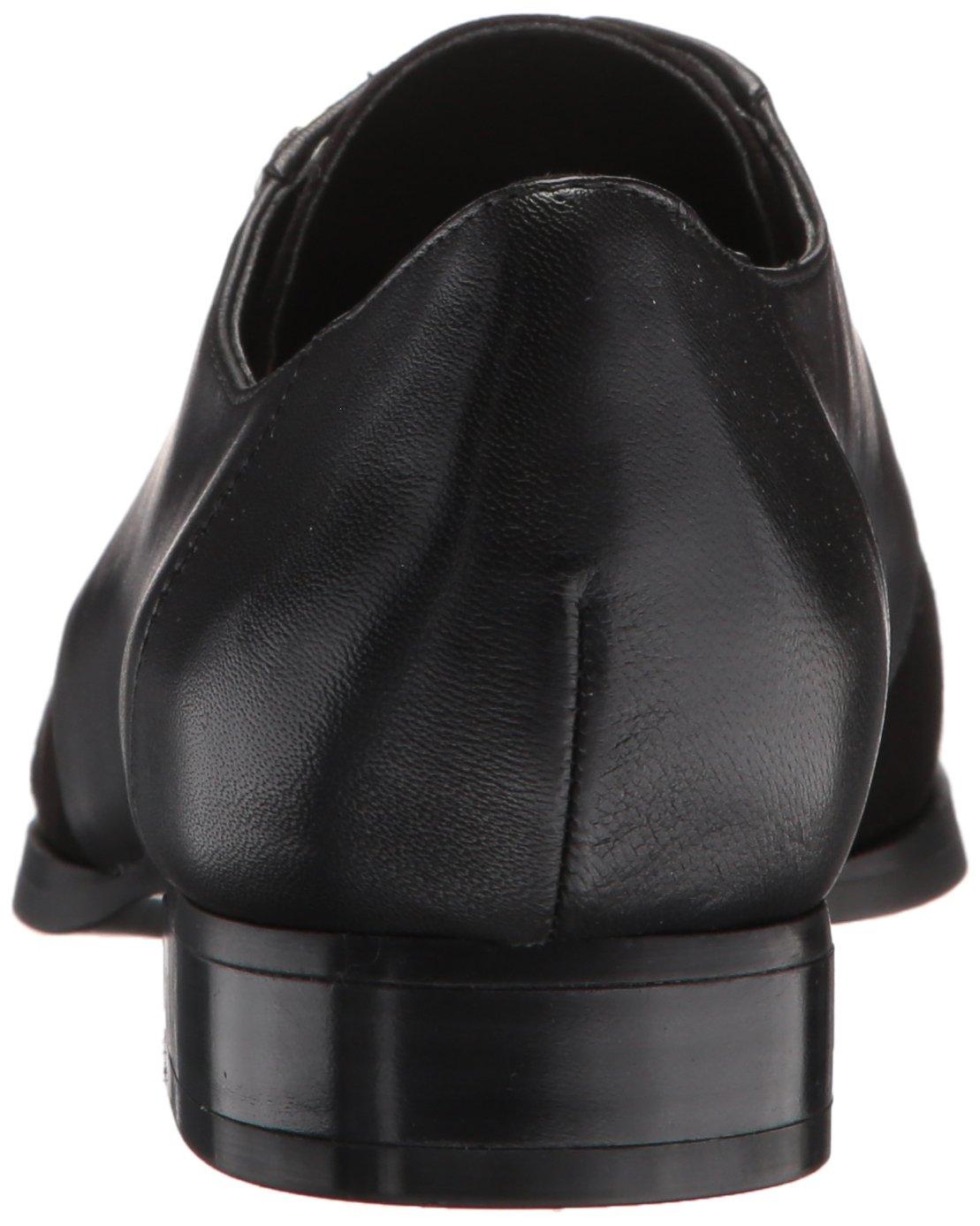 Nine West Women's Here Leather Uniform Dress Shoe, Black/Multi Leather, 5 M US by Nine West (Image #2)