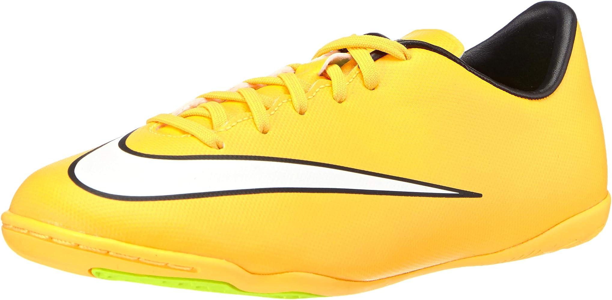 Pase para saber Optimismo Prosperar  Amazon.com | Nike JR Mercurial Victory V IC Indoor Boys Shoes (11C) | Soccer