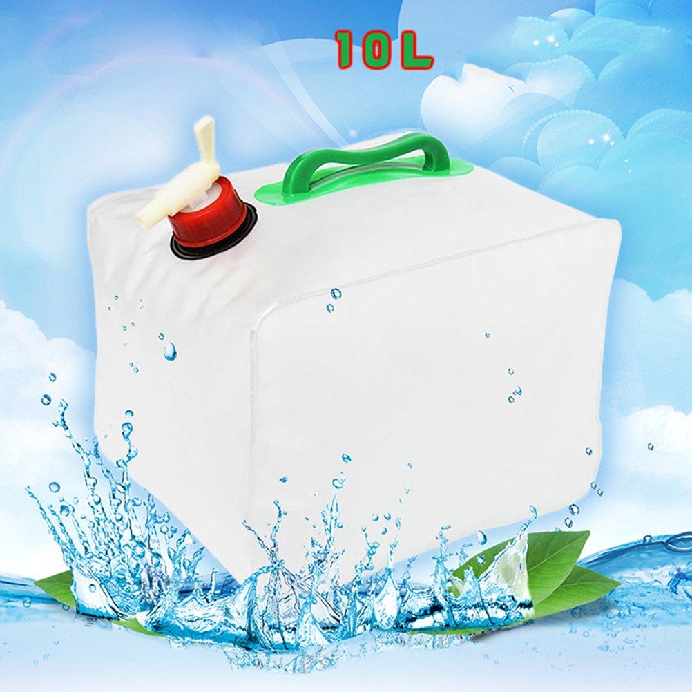 VORCOOL Normani/ /Bid/ón de agua con grifo para camping 10L