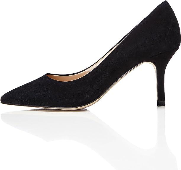 TALLA 36/36.5 EU. Marca Amazon - find. Mujer Zapatos de tacón con punta cerrada