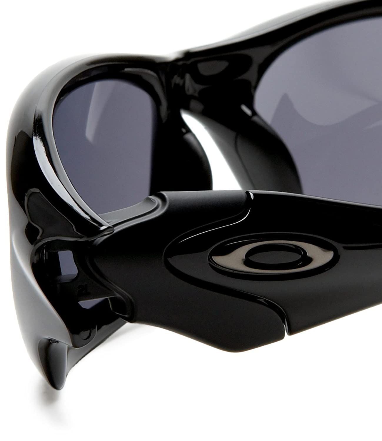 oakley sunglasses straight jacket  amazon: oakley men's straight jacket iridium sunglasses,polished black/black iridium,one size: oakley: clothing