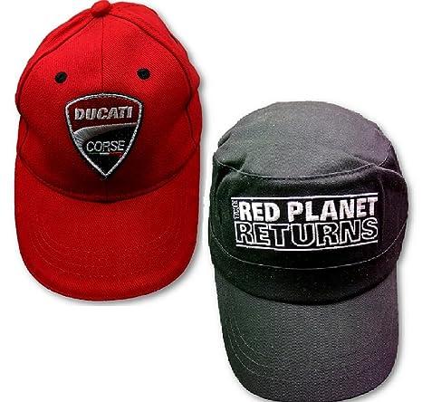 Gorras X 2 Ducati niños y adultos planeta rojo WDW2010 moto MotoGP ...