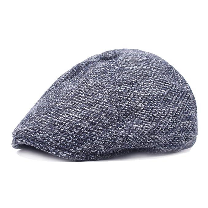 Winter Thicken Warm Beret Hats for Men Visors Gorras Planas Flat Caps Berets Z-6084