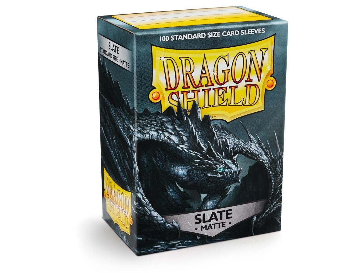 Dragon Shield Matte Slate Standard Size Card Sleeves Display Box [10 Packs] by Dragon Shield (Image #2)