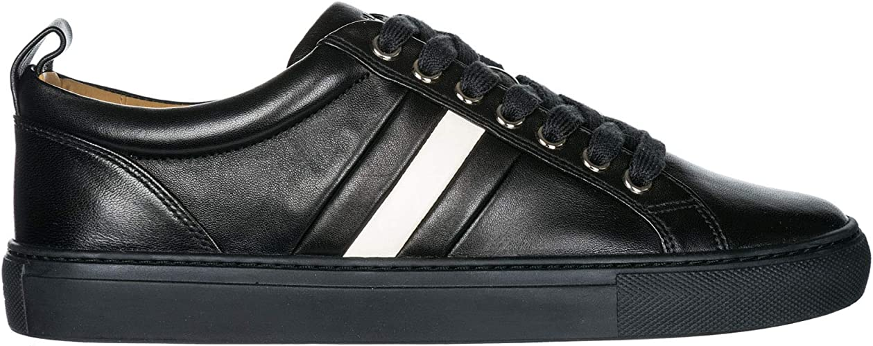 cristiano como eso Asser  Bally Men Hendris Sneakers Nero 5.5 UK: Amazon.co.uk: Shoes & Bags