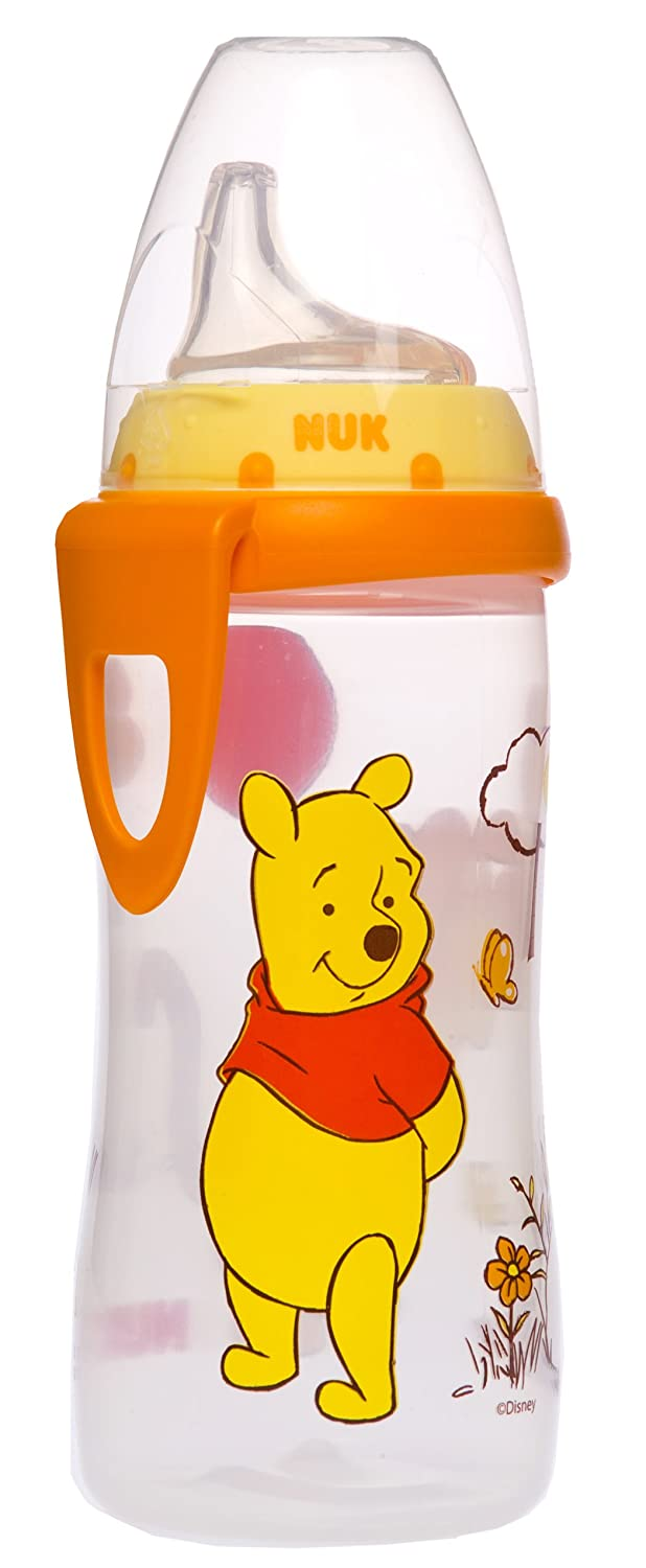 NUK Disney Winnie the Pooh Silicone Spout Active Cup, 10-Ounce 62744
