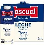 Leche Pascual - Clásica Leche Entera - 1 L (Paquete de 6)
