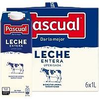 Leche Pascual Clásica Leche Entera - Pack de 6 x 1 l - Total: 6