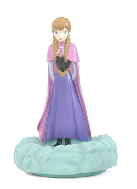 Amazon.com: Disney Frozen Anna figurativas Pushlight juguete ...