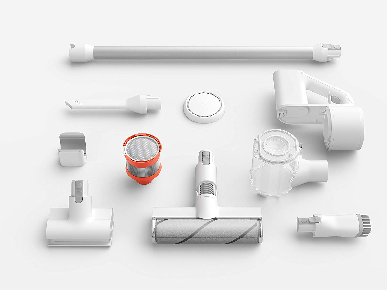 Xiaomi Mi Handheld Vacuum Cleaner - Aspirador escoba, duración batería hasta 30 minutos, 5 niveles de filtración, motor hasta 100,000 rpm, color blanco, 350 W: Amazon.es: Hogar