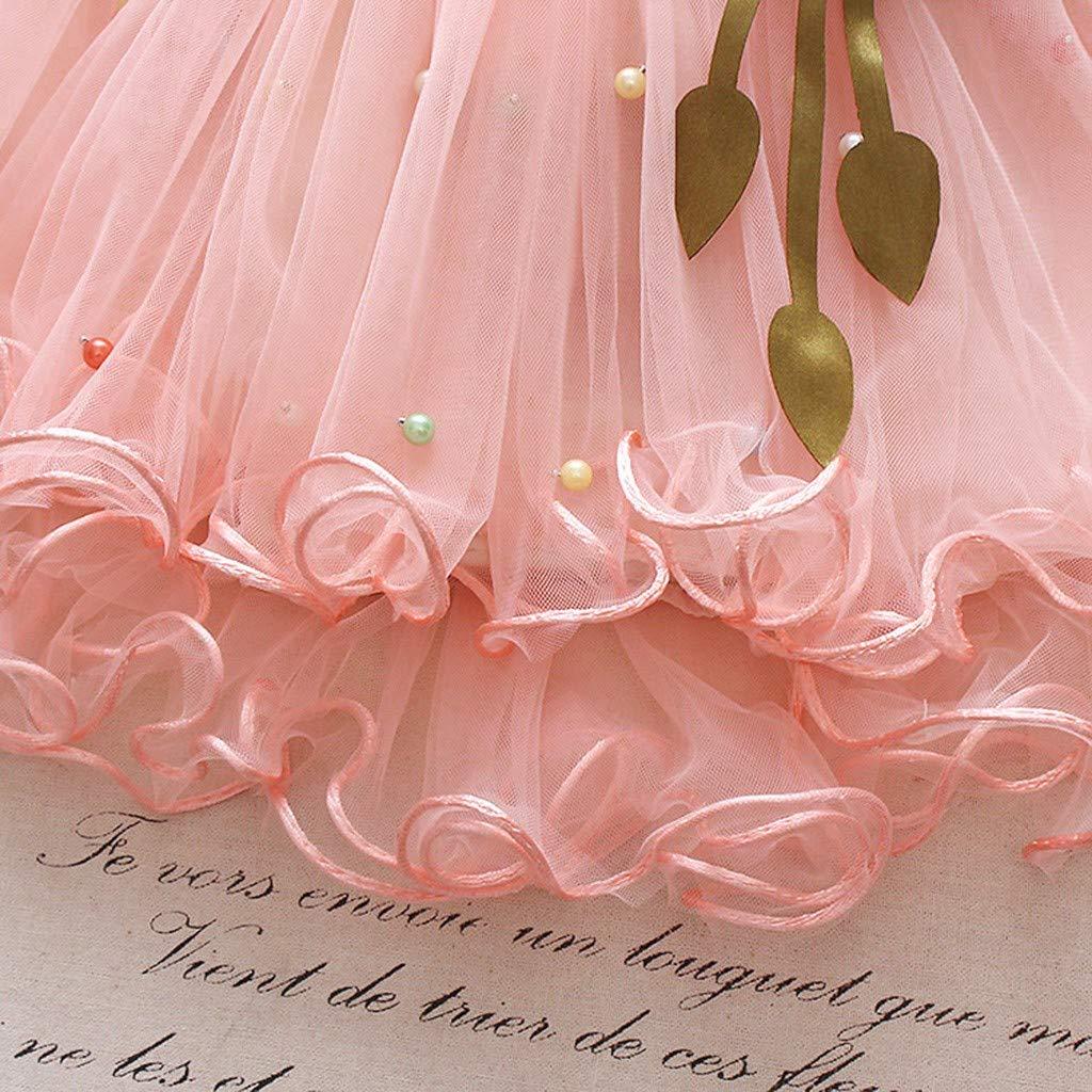1-4Years,SO-buts Children Kids Baby Girls Lovely Beautiful Show Dance Party Flower Princess Gauze Tutu Skirt