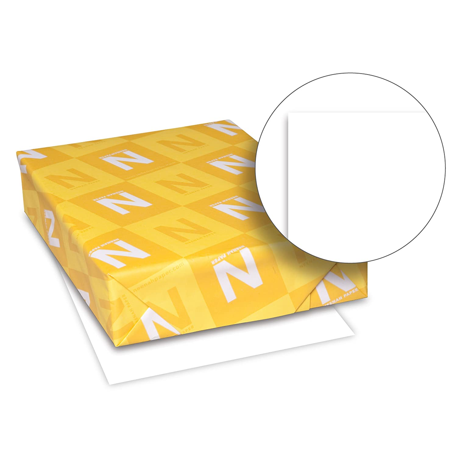 Amazon.com : Neenah Royal Cotton Writing Paper, Letter 8.5 X 11 Inches, 24  Pound, Bright White 96 Brightness, 500 Sheets (29696) : Office Products