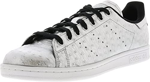 newest 75069 c13a1 adidas Originals Stan Smith - Scarpe da Ginnastica Basse, Unisex, da  Adulto, Argento