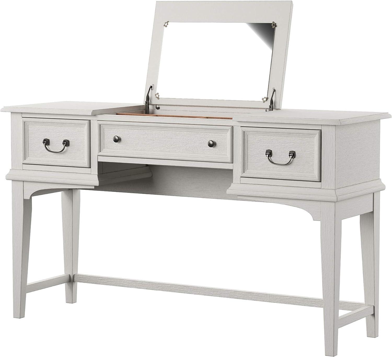 Liberty Furniture Industries Bayside Vanity Desk, W54 x D18 x H31, White