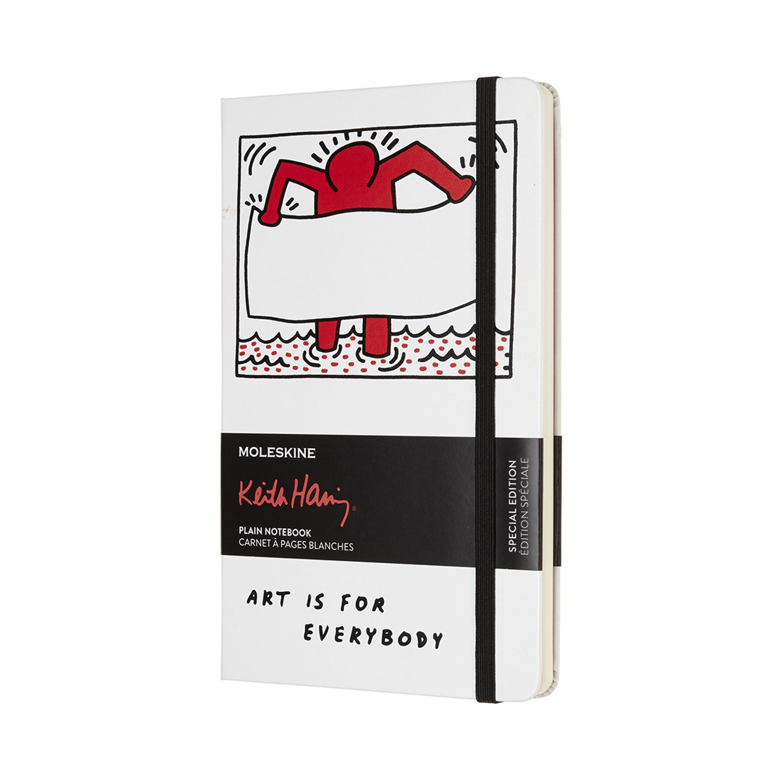 Moleskine Taccuino, Keith Haring, Hard Cover Pagine bianche Tascabile rosso scarlatto 8055002854818 Loisirs et jeux Schreibwaren (bedruckt)