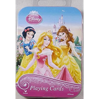 Disney, Nickelodeon, Marvel & More Licensed Character Playing Cards in Tins (Disney Princess): Sports & Outdoors