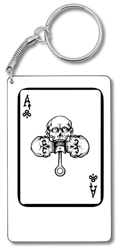 Poker Ace Llavero Llavero: Amazon.es: Equipaje