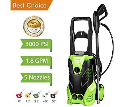 Meditool 3000 PSI Electric Pressure Washer