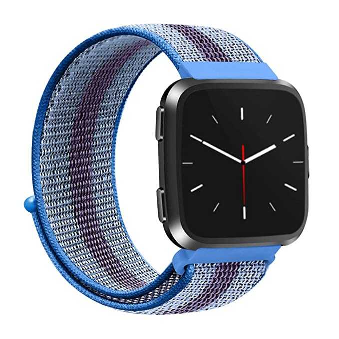 Cadena Reloj para Unisex de Velcro Correa Múltiples Colores Pulsera Nylon Brazalete de Manera Wristbands Deportes Strap Elegante Bandas: Amazon.es: Relojes