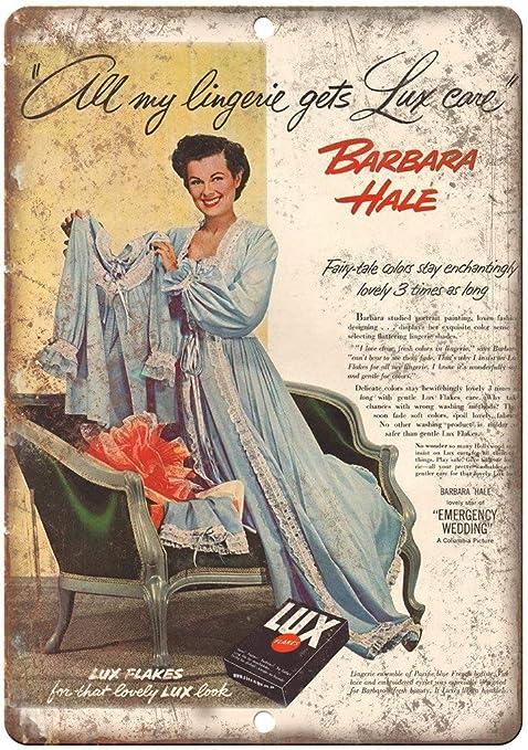 Shunry Barbara Hale Lux Beauty Soap Placa Cartel Vintage ...