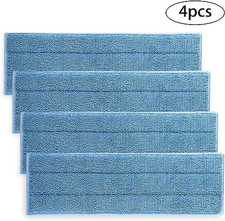 Polti kit 2x panni microfibra lavabili riutilizzabili per scopa Moppy