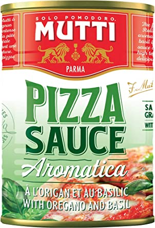 Mutti Pizza Sauce Aromatica Pizza Sauce 400g Pack Of 12 Amazon Co Uk Grocery