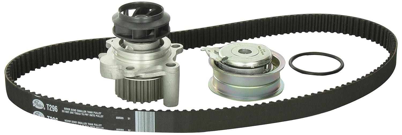 Gates TCKWP296 Engine Timing Belt Kit with Water Pump