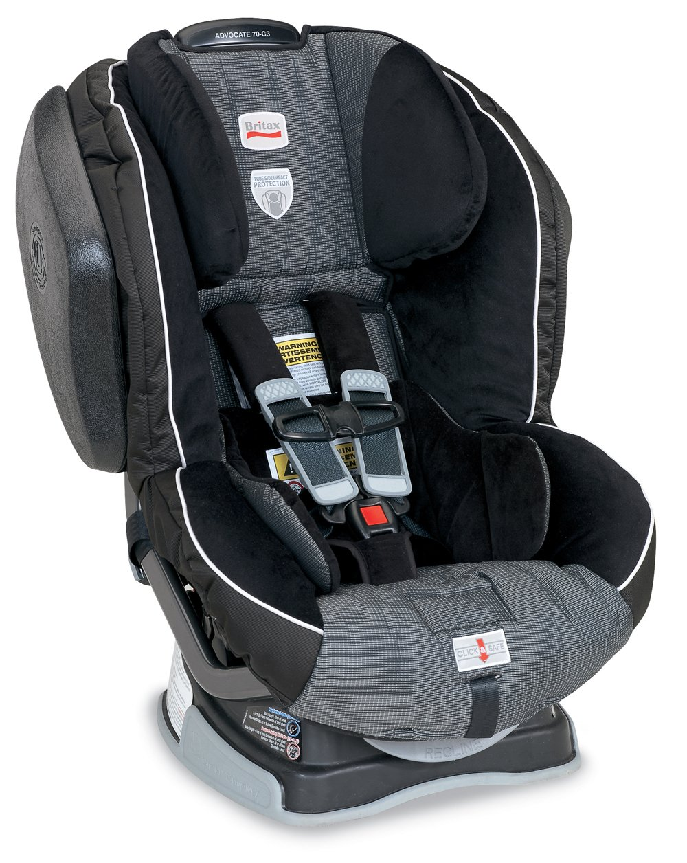 Amazon.com: Britax Advocate 70-G3 Convertible Car Seat, Onyx (Prior Model):  Baby