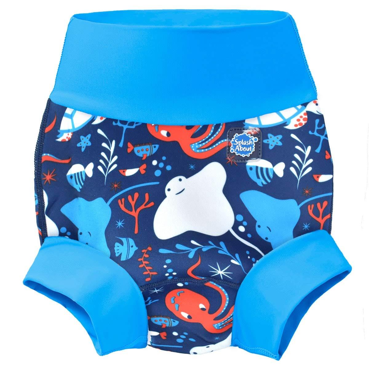 Splash About Happy Nappy Pa/ñal de Ba/ño Reutilizable Under The Sea
