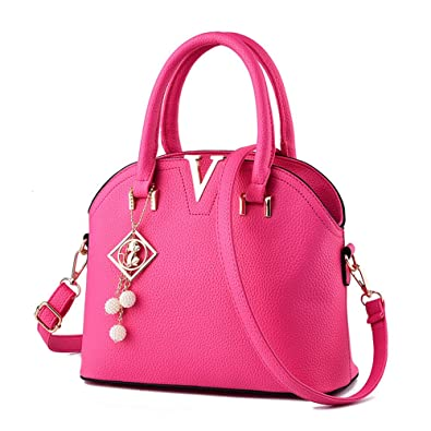 086e3a7c6b Sweet Women s Small Size Blend Casual Cross body Shell Shape Top Hand Tote  Purse Bag
