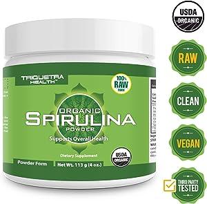 Sweepstakes: Organic Spirulina Powder: 4 Organic Certifications...