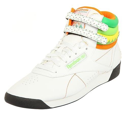 b9d5400e3dabbf Reebok Damen Sneakers F S HI Sushi INTL Weiß Grün Orange J86673 ...