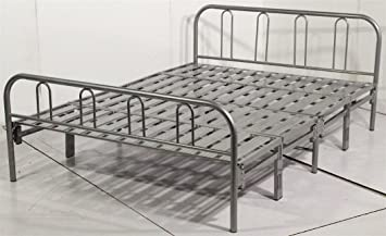 Homejoy Texas Heavy Duty Contract Folding Or Guest Bed Frame 4ft6in Double