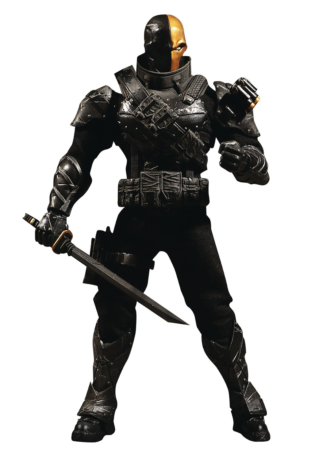 Mezco Toys One:12 Collective: DC Stealth Deathstroke Action Figure by Mezco (Image #1)