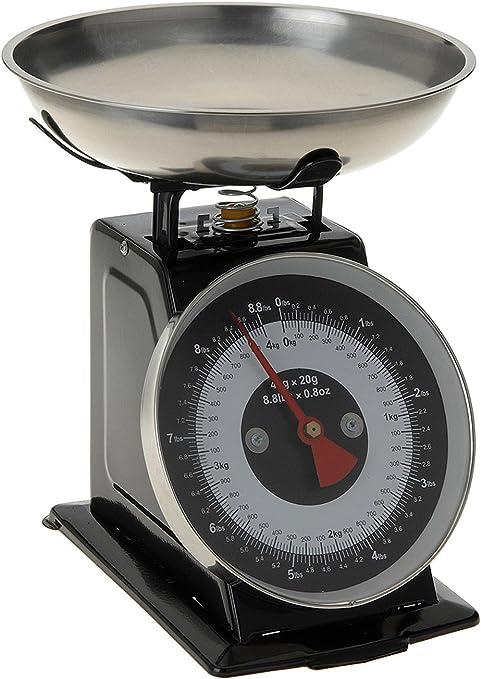 Vintage Kitchen Scales Weight Scale Black Amazon De Kuche Haushalt