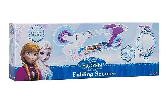 Amazon.com: Disney Frozen Inline niña patinete Scooter ...
