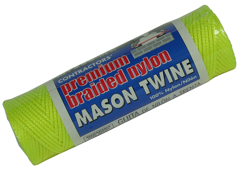 Lehigh Group BNT14Y6 Nylon Mason Line Twine Yellow 250/' Jensen 250 Home Improvement